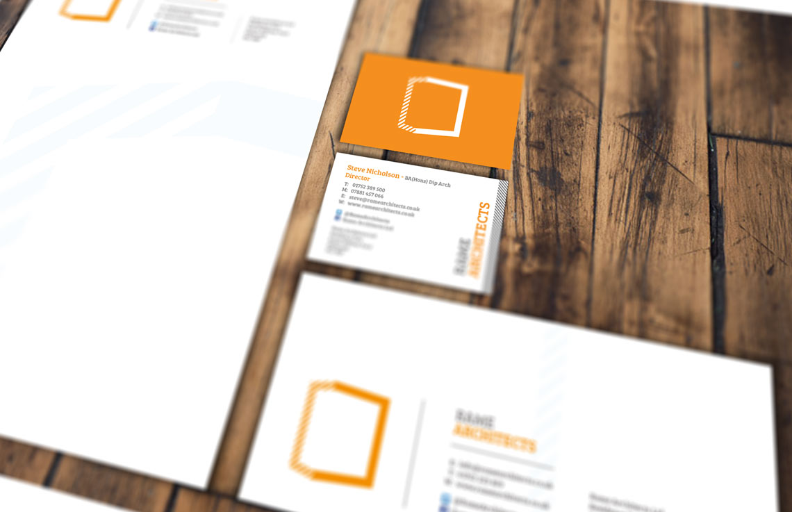 Rame Architects stationery