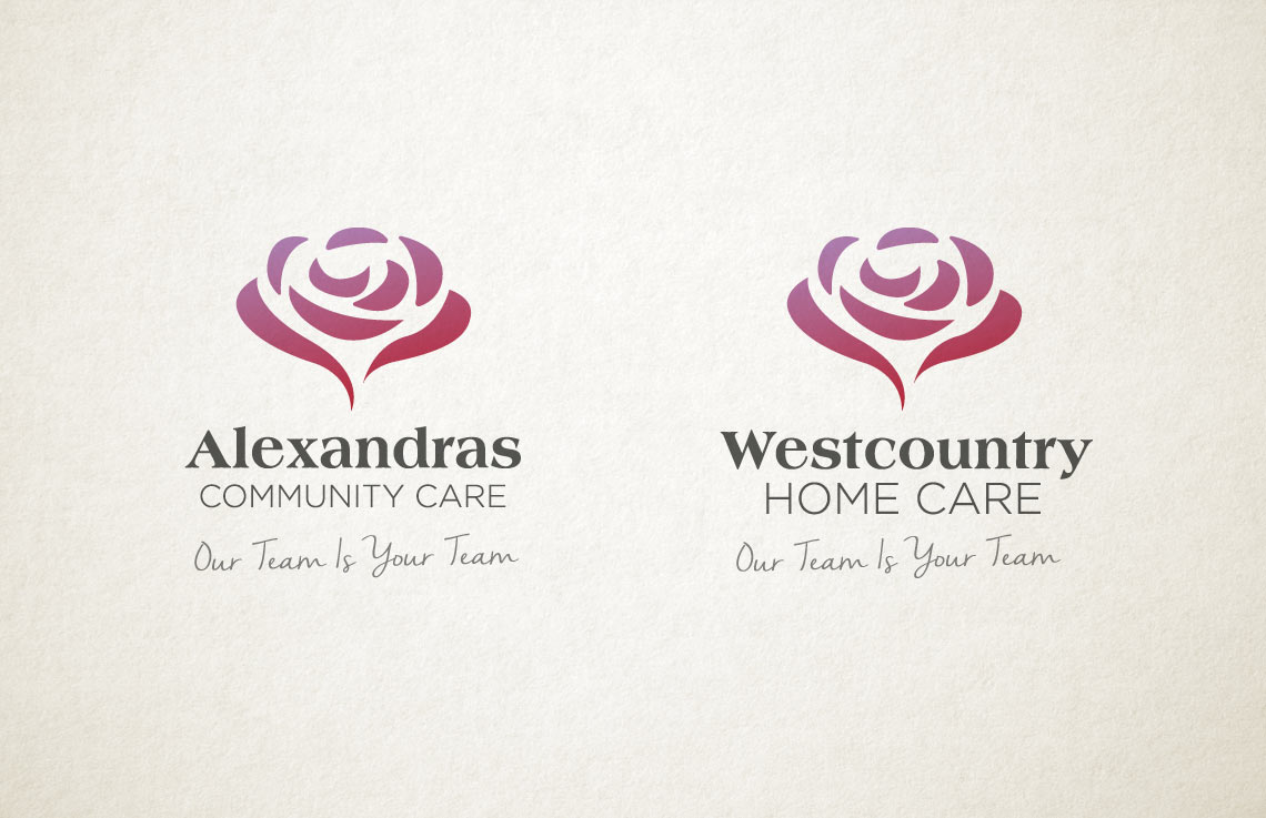 Alexandras and Westcountry logo