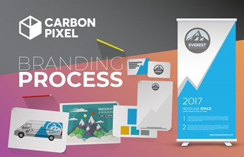 Infographic: Carbon Pixel Brand Process