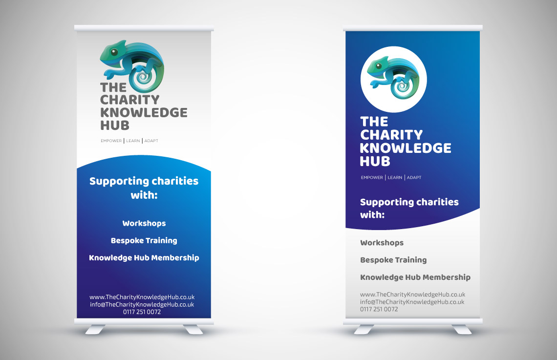 The Charity Knowledge Hub Banners