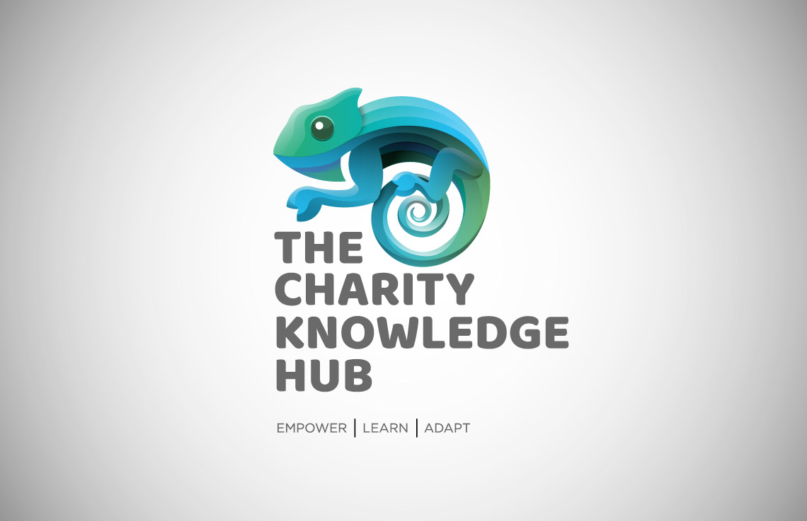 The Charity Knowledge Hub logo design