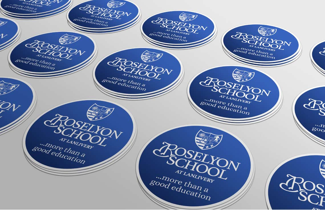 Roselyon School stickers