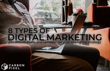 8 Types of Digital Marketing you should know and consider for your marketing strategy