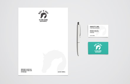 Small business logo and branding