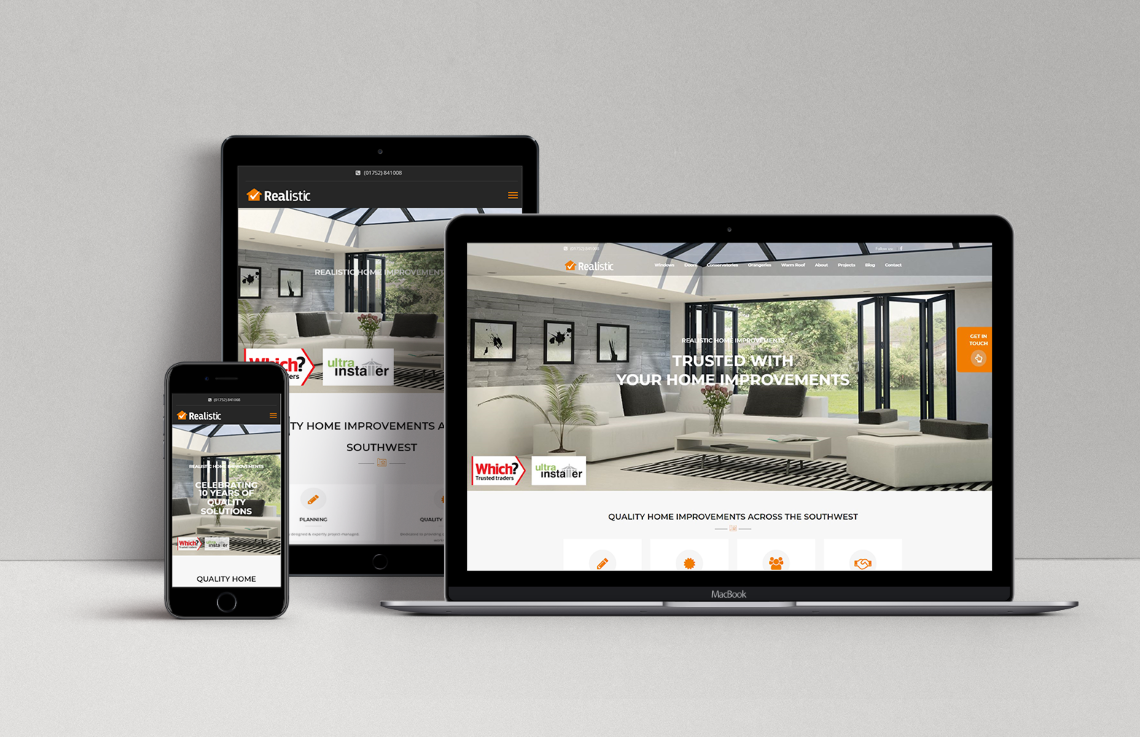 Realistic Home Improvements new website